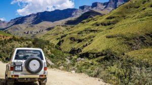 Sani Pass in the Drakensberg Mountains
