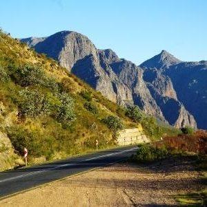 mountain passes around the Cape