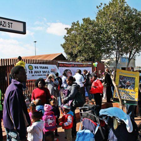 Gathering in Soweto
