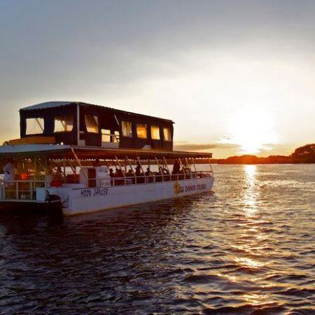 bush-cuisine-dinner-boat-sunset