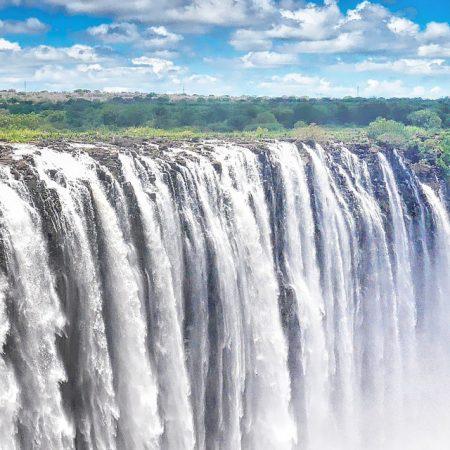 Vic Falls in Zimbabwe / Zambia